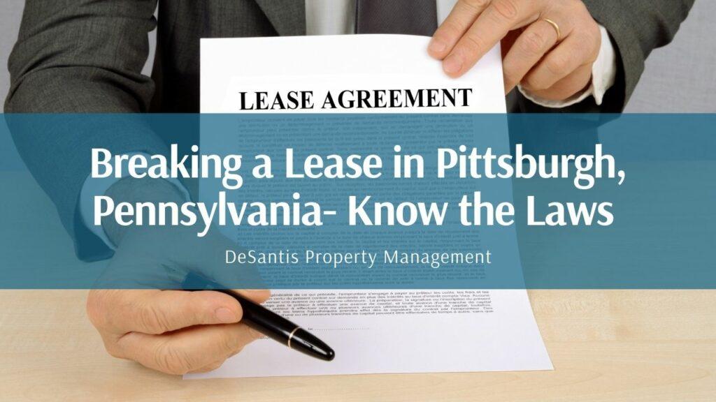 DeSantis PM breaking lease Pennsylvania